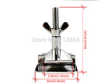 1 piece  Simple SS Hinge Clamps Tool For Silk Screen Printing screen press