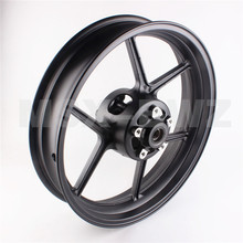 Motorcycle 1 PCS Front  Wheel Rim  For Kawasaki ZX10R 2004-2005 ER-6N 2006-2012  BLACK New High Quality