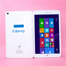Glavey 8 inch IPS Screen Tablet pc 1920x1200 2GB+32GB quad core Windows 8.1and Android 4.4 +Windows Tablets pc Z3736F(China)