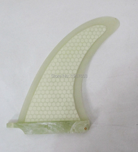 Glassfiber honeycomb surfboard fin 8 surf fin center longboard 8' for surfboard stand up paddle board surfing accessories(China)