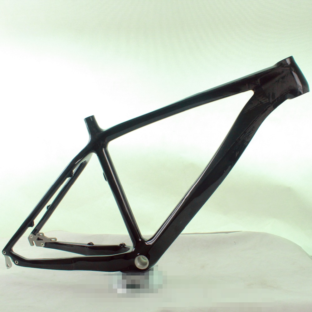 26er Mountain Bike Frame Carbon frame KQ-MB84 Size18/20 inch UD glossy finish Cheap Factory Outlets