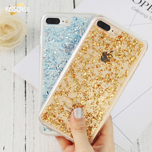 KISSCASE Gold Bling Case For Huawei P9 Lite P8 Lite Ultra Thin Glitter Soft TPU Phone Cases For Huawei P8 P9 Lite Sequin Fundas