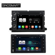 SINOSMART Android 6.0 2G RAM 8 Core, Android 7.1 1G RAM Car DVD GPS Navigation for Ford Victoria/Fusion/Explorer/F150/ Edge etc.(China)