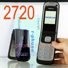 Hot sale Original Nokia 2720 Mobile Phone 2G GSM tri-band Unlocked Russin Arabic keyboard Refurbished Cheap Phone