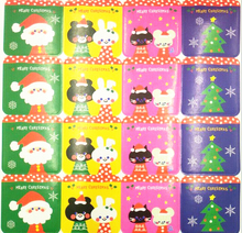 400pcs Merry Christmas Tree Bear Kraft DIY Paper Sticker Labels Seal Envelope Gift Box Wrapping Soap Craft Baking Decoration