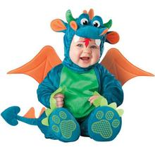 Infant Dragon / Dinosaur Romper Kids One Suit Animal Cosplay Shapes Costume Child autumn winter Clothing 0108