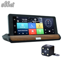 3G 7 inch Car GPS Navigation Bluetooth Android DVR 1GB RAM 16GB ROM Truck vehicle gps navigator navitel with Rear view camera