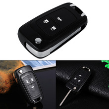 Flip Folding Remote 3 Buttons Key Fob Shell Case For Vauxhall Opel Zafira Astra Insignia Holden
