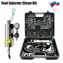 Universal Automotive Non-Dismantle Fuel System Cleaner Auto gasonline Injector Clean tool For Petrol Cars(China)