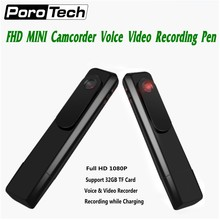 IDV C181 Portable Mini Camera Micro Body Camara 1080P Full HD Mini DV DVR Sport Camcorder Voice Video Recorder Recording Pen(China)