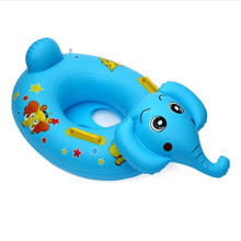 Summer children's water toys Thickening inflatable kiddie swimming  seat cartoon infant swimming water toys arm boat