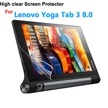 "2Pcs Tempered Glass Screen Protector Film Lenovo Yoga Tab 3 8 850 850F YT3-850F 8.0"" Tablet + Alcohol Cloth + Dust Stickers"