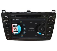 "HD 2 din 8"" Car DVD Player for MAZDA 6 Ruiyi Ultra 2008-2012 With Radio GPS Navigation Bluetooth IPOD TV SWC USB AUX IN(China)"