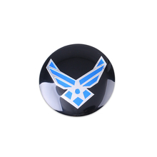 4Pcs 3D Aluminium  56.5mm Wheel Center Hub Caps Emblem Sticker Case for Nissan   BMW AUDI VW KIA Porsche