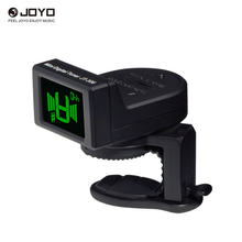 JOYO JT-306 Mini Digital LCD Clip-on Tuner for Acoustic Electric Guitar Bass Violin Ukulele Chromatic Guitarra Accessories&Part