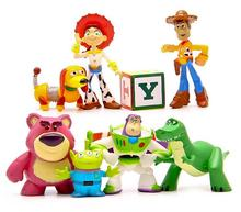 BOHS Toy Story 3 Full Collections Sheriff Woody Pride Jessie Rex Slinky Dog Mr.Potato Head Set Doll Figures Toys