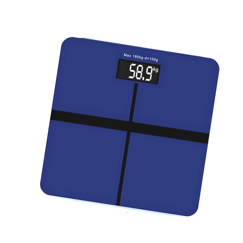 180KG Electronic Digital Weight Body Scales Glass Smart Household Balance Bariatric LCD Display Floor Scales<br>
