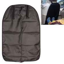67*45cm Universal Car Seat Back Protector Cover Case For Children Kick Mud Dirt and Wet Shoes Fits All Vehicle Seats with Clip