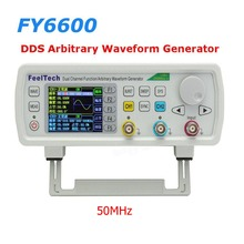 FT FY6600 50MHz Dual Channel DDS Function Arbitrary Waveform Generator/pulse source/Frequency Meter 14Bit 250MSa/s(China)