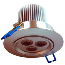 3*3W RGB LED downlight;DC12V input;with 4 wire PWM driver inside;size:D90 *75mm,cut hole:D75mm