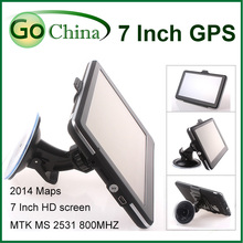 "7 inch MTK Wince car GPS 800MHz ,256M,8G, FM,MP3,MP4, Wince Navigator 7"" GPS offer new maps"