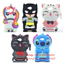 For Huawei Y3 II Y3 2 Case Batman Rainbow Horse Cat Stitch Silicone Rubber Cell phone Cases Covers Phone Case