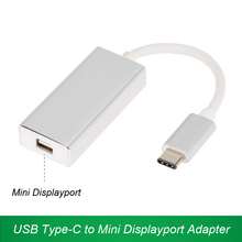 USB Type-C to Mini DisplayPort Adapter 4K HD USB-C to Mini DP Converter Cable For Apple Air Pro
