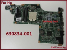 Free Shipping 630834-001 for HP DV7 DV7-4000 for AMD Laptop Motherboard fully tested