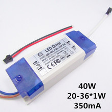 1pcs 20W 30W 40W LED Driver 20-36x1W 350mA DC60-120V High Power LED Powr Supply For Floodlight(China)