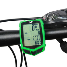 Bicycle bike Computer Wireless Waterproof Bike Speedometer Odometer Functions Accessories LED Screen Cycling Table Bike Stopwath(China)