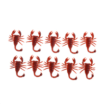 Hot Sale 10pcs/set Rubber Prank Toys Cockroaches centipede decorations joke Horror Fake worms Funny Gadgets kids toy(China)