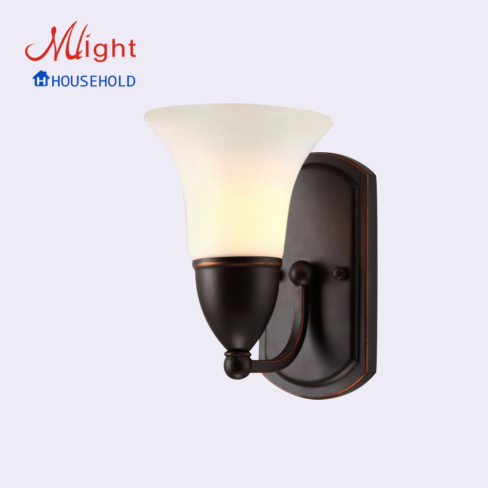 Modern bedroom glass wall lamp, American style glass wall lamp for hotel<br><br>Aliexpress