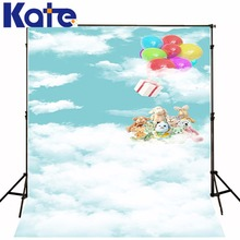 200Cm*150Cm Backgrounds Flying Origami Airplane Flying Clouds Sky Photography Backdrops Photo Lk 1312