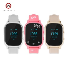GPS Tracker Smart Watch Kids Child Bracelet Personal Locator GSM Tracking Device T58 LBS WiFi Call Free Web APP Realtime Track