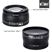 Buy KIWI 0.45xWide Angle Macro Conversion Lens 58mm Rear Lens Mount Canon Nikon Sony DSLR Camera Universal for $19.99 in AliExpress store