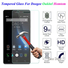 Screen Protector Tempered Glass For Doogee Y100 Pro Y300 X3 X5 Pro X6 X5 MAX Homtom HT3 HT6 HT7 Protective Film(China)
