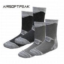 Buy 2 Pairs/Lot Winter Thermal Ski Socks Men Cotton Spandex Sport Snowboard Socks Wearable Thermosocks calcetines de ciclismo for $10.03 in AliExpress store