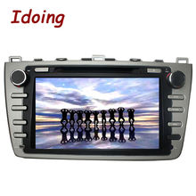 Idoing2Din Android 5.1Steering-Wheel Fit Mazda6 Car DVD Video Multimedia Player Bluetooth GPS Navigation3G Radio TV WiFi Can-Bus