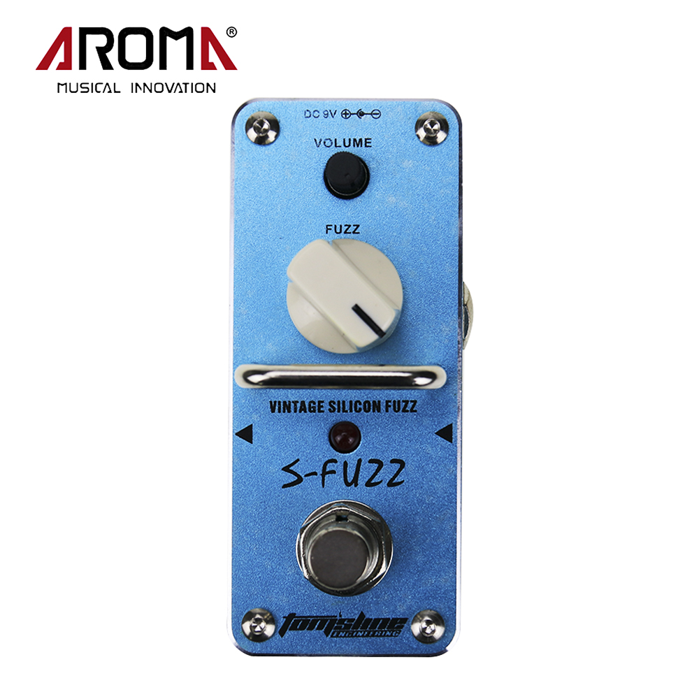 Aroma Tomsline ASF-3 S-FuzzElectric Electric Gutiar Mini Singer Analogue Effect Pedal With True Bypass<br>