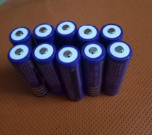 Free ship 10pcs/lot 18650 li-ion rechargeable battery 4.2V battery lithium battery