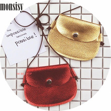 Monsisy 5PCS Christmas Baby Handbag For Girl PU Leather Shoulder Bag Kawaii Kid Coin Purse Small Children Wallet Toddler Bag