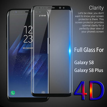 avowei 3D Curved Edge Cold Carving Tempered Glass For Samsung Galaxy S8 S8 plus Full Cover Glass Screen Protector Olixar