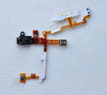 2pcs/lots New Headphone Audio Jack + Power Button and Volume Flex Cable For iPhone 3G 3GS Replacement Parts + Fast Shipping