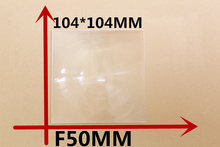 1pcs/lot Focal length 50 mm fresnel lens 104*104MM High concentrated lens free shipping DIY Solar concentrator Fresnel Lens(China)