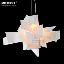 Modern Irregular Foscarini Big Bang pendant Lighting Fixture Art suspension Lamp drop White Red color lamp for Dining room(China)