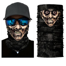 Sun Mask Face Shield Fishing Headwear Scarf Biker Neck Gaiter Tube BANDANA UV(China)