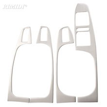 Stainless Steel Armrest Panel Cover Decoration 4pcs/lot For Volkswagen VW Jetta MK6 For 2012 2013 2014 Auto Parts