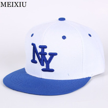 2017 Fashion NY Baseball Cap Women Casual Snapback Cap For Men High Qaulity Adjustable Hat Homme Letter Embroidery Bone Caps