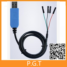 1PCS PL2303 TA USB TTL RS232 Convert Serial Cable PL2303TA Compatible with Win7 Win8 Win10 vista(China)