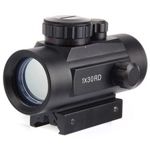Hunting Optics Scope 1X30 Holographic Riflescope Red Green Dot Tactical Sight 20mm Air Rifle Scope For Hunting Airsoft